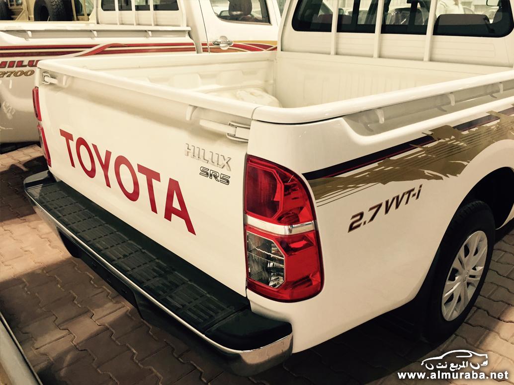 """تويوتا هايلكس 2015 بالتطويرات الجديدة تصل السعودية """"صور ومواصفات واسعار"""" Toyota Hilux   المربع نت"""