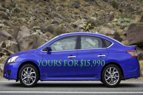 نيسان سنترا 2014 بالتعديلات الجديدة Nissan Sentra