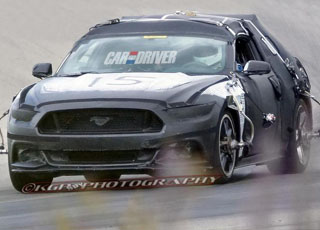 صور مسربة من فورد موستنج 2015 المكشوفة القادمة Ford Mustang
