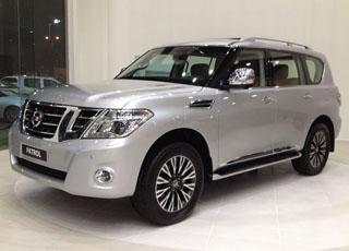 """حصرياً """"بالصور"""" نيسان باترول 2014 يصل للمملكة بالتفاصيل والاسعار 2014 Nissan Patrol"""