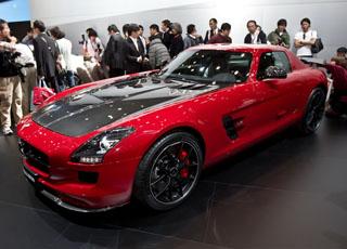 """مرسيدس اس ال اس المعدلة """"النهائية"""" تظهر قبل عرضها في المعرض Mercedes SLS AMG"""