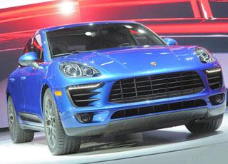 """بورش ماكان 2015 SUV تظهر رسمياً """"بالصور"""" للمرة الأولى خلال تدشينها Porsche Macan"""