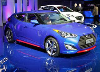 "هيونداي فيلوستر 2014 تيربو المطورة ""صور ومواصفات"" Hyundai Veloster"