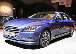"""هيونداي جينسيس 2015 الجديدة كلياً """"100 صورة"""" عالية الجودة Hyundai Genesis"""