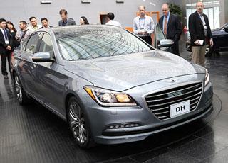 """هيونداي جينيسيس 2015 سيدان الجديدة كلياً """"مواصفات وصور"""" Hyundai Genesis"""