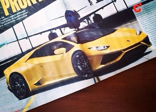 لامبورجيني كابريرا تظهر اخيراً على بعض مجلات السيارات العالمية Lamborghini Cabrera
