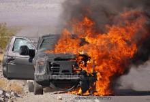 """""""بالصور"""" احتراق فورد سوبر ديوتي 2016 الجديدة خلال اختبارها Ford Super Duty"""