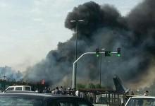 """""""بالفيديو والصور"""" مقتل 40 شخصاً في تحطم طائرة ركاب إيرانية قرب مدينة طهران"""