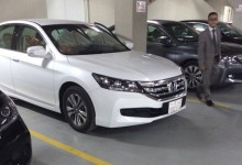 """""""بالفيديو والصور"""" المربع نت يرصد وصول هوندا اكورد 2015 الى مدينة الرياض Honda Accord"""
