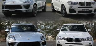 """""""مقارنة"""" بورش ماكان Vs بي إم دبليو X4 """"صور ومواصفات وتصويت"""" Porsche Macan BMW X4"""