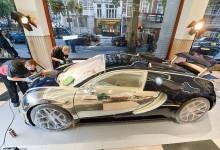 """""""بالصور"""" بوجاتي فيرون الأغلى في العالم تحصل على أغلى طلاء في العالم Bugatti Veyron"""
