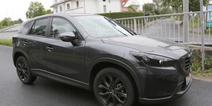 مازدا سي اكس فايف 2016 بشكلها الجديد كلياً تظهر خلال اختبارها Mazda CX-5