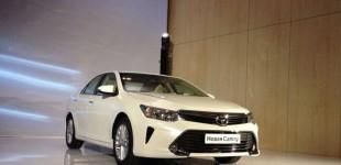 """بالصور"" تويوتا كامري 2016 تكشف نفسها رسمياً في مدينة موسكو Toyota Camry"