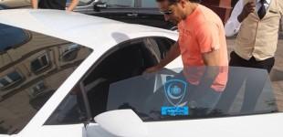 """""""بالصور"""" سامي الجابر أول من يمتلك لامبورجيني هواركان الجديدة في مدينة الدوحة بقطر"""