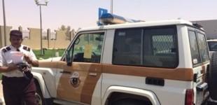 """""""بالصور"""" شاهد مخالفة دورية شرطة توقفت في موقف خاص بالمعاقين"""