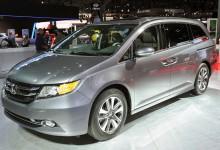 """هوندا اوديسي 2015 بالتطويرات الجديدة """"صور واسعار ومواصفات"""" Honda Odyssey"""