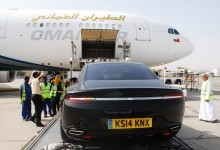 """""""بالصور"""" استون مارتن لاجوندا الجديدة في اول ظهور لها في عمان Aston Martin Lagonda"""