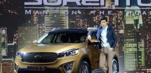 كيا سورينتو 2015 تكشف النقاب عن سيارتها الجديدة كلياً في كوريا الجنوبية Kia Sorento