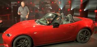 """""""فيديو"""" الاطلاق الأول لسيارة مازدا 2016 MX-5 ND والصور الرسمية الاولى"""