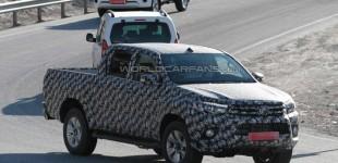 تويوتا هايلكس 2016 الجديد كلياً وبتصميم حضاري يظهر خلال اختباره في اوروبا Toyota Hilux