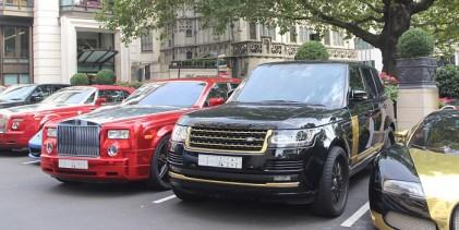 """""""الجارديان البريطانية"""": العرب يعودون للإزعاج في لندن مرة اخرى سياراتهم بعد عودتهم من مدينة كان الفرنسية!"""