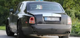 """""""بالصور"""" رولز رويس فانتوم 2016 في أول ظهور لها خلال اختبارها Rolls-Royce Phantom"""