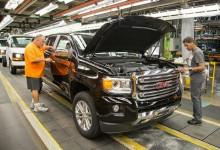 جنرال موترز تضيف الخط الثالث للإنتاج في مصنع انتاج شيفي بولايتي كولورادو وGMC كانيون