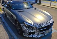 """""""صور تجسسية"""" أول إصدار معدل من مرسيدس 2015 الجديدة Mercedes-AMG GT Edition"""
