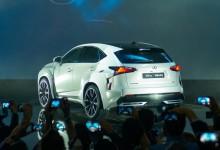 لكزس NX بتصميم جديد سيتم الكشف عنها في معرض باريس للسيارات Lexus NX