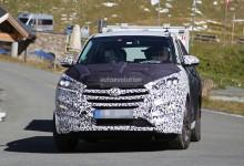 """""""بالصور"""" هيونداي توسان 2016 الجديدة كلياً تظهر خلال اختبارها اخيراً Hyundai Tucson"""