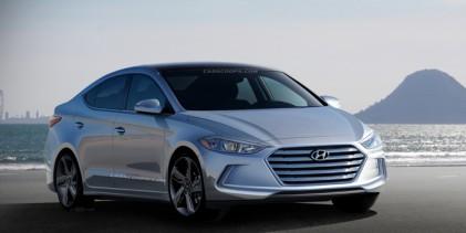 هيونداي النترا 2016 الجديدة كلياً تظهر مع بعض المواصفات Hyundai Elantra