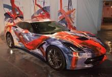 معرض كورفيت ستينجراي الجديدة يجمع مبلغ 400 ألف دولار Corvette Stingray