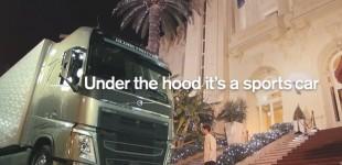 """""""فيديو"""" فولفو تأخذ شاحنتها لأحد الفنادق الراقية وتقوم بعمل مقلب بعامل إيقاف السيارات"""