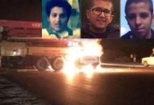 حادث مروري يصرع شقيقي بطل السباقات يزيد الراجحي و4 شباب آخرين