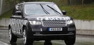 """""""صور تجسسية"""" رنج روفر بقاعدة عجلات طويلة SVR بقوة 550 حصاناً Range Rover LWB"""