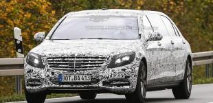 مرسيدس اس 600 بولمان الجديدة تظهر خلال اختبارها في المانيا Mercedes S600 Pullman