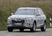 """بالصور"" اودي كيو سفن 2016 تمت مشاهدتها بمصابيح امامية LED ماتريكس لأول مرة Audi Q7"