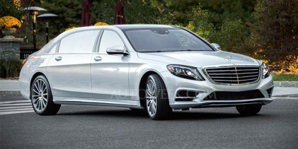 مرسيدس بنز تؤكد قدوم سيارتها اس كلاس مايباخ الشهر المقبل Mercedes-Benz S-Class Maybach