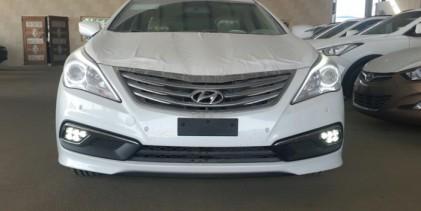 """هيونداي ازيرا 2015 بالتطويرات الجديدة تصل الى السعودية """"صور ومواصفات واسعار"""" Hyundai Azera"""