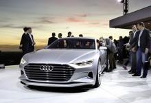 """اودي تكشف عن نموذجها الانيق """"Audi Prologue"""" التي ستنافس مرسيدس اس كلاس كوبيه"""