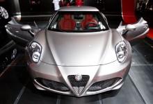 الفا روميو تخطف عيون الحاضرين في معرض نيويورك بـ 4C الجديدة Alfa Romeo