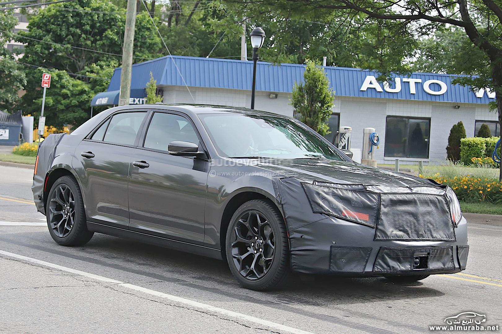 كرايسلر 300 2015 الجديدة كلياً تظهر اخيراً اثناء اختبارها Chrysler 300 | المربع نت
