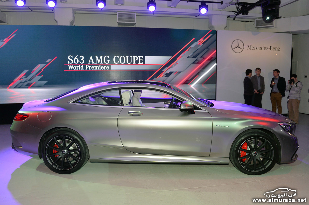 "مرسيدس اس 63 كوبيه AMG 2015 ""فيديو ومواصفات واسعار"" Mercedes S63 Amg Coupe | المربع نت"