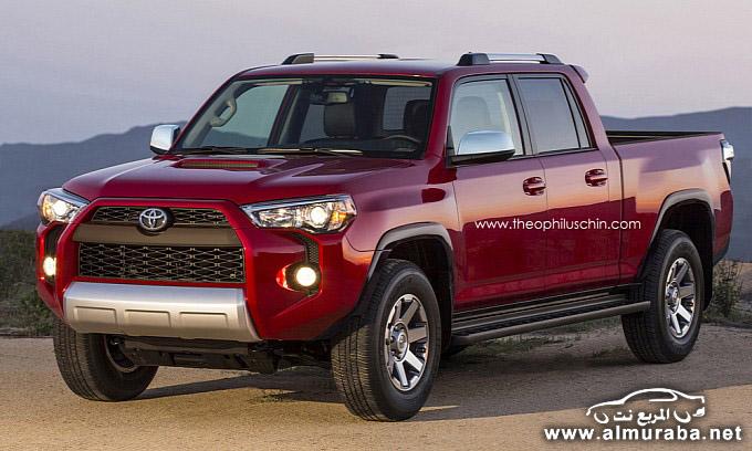 تويوتا فور رنر بيك اب الجديدة 2014 الدفع الرباعي Toyota 4Runner Pickup