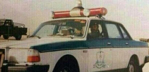 سيارة الشرطة قديماً