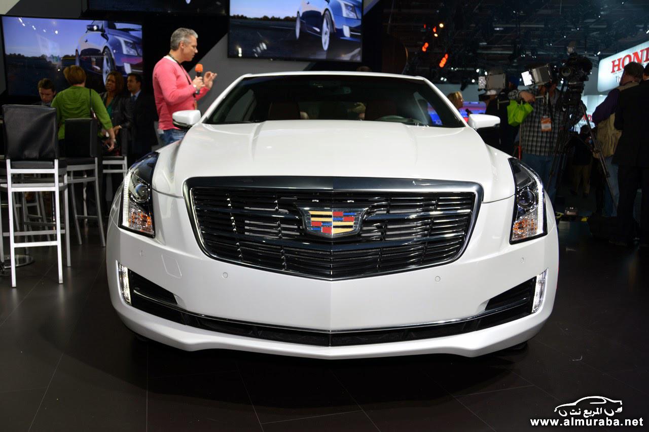 """كاديلاك ايه تي اس 2015 كوبيه الجديدة """"صور ومواصفات وفئات"""" Cadillac ATS - المربع نت"""
