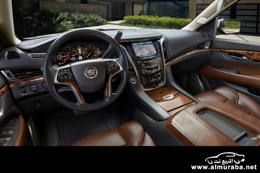 كاديلاك اسكاليد 2015 بالشكل الجديد كلياً صور ومواصفات واسعار Cadillac Escalade 2015 – المربع نت