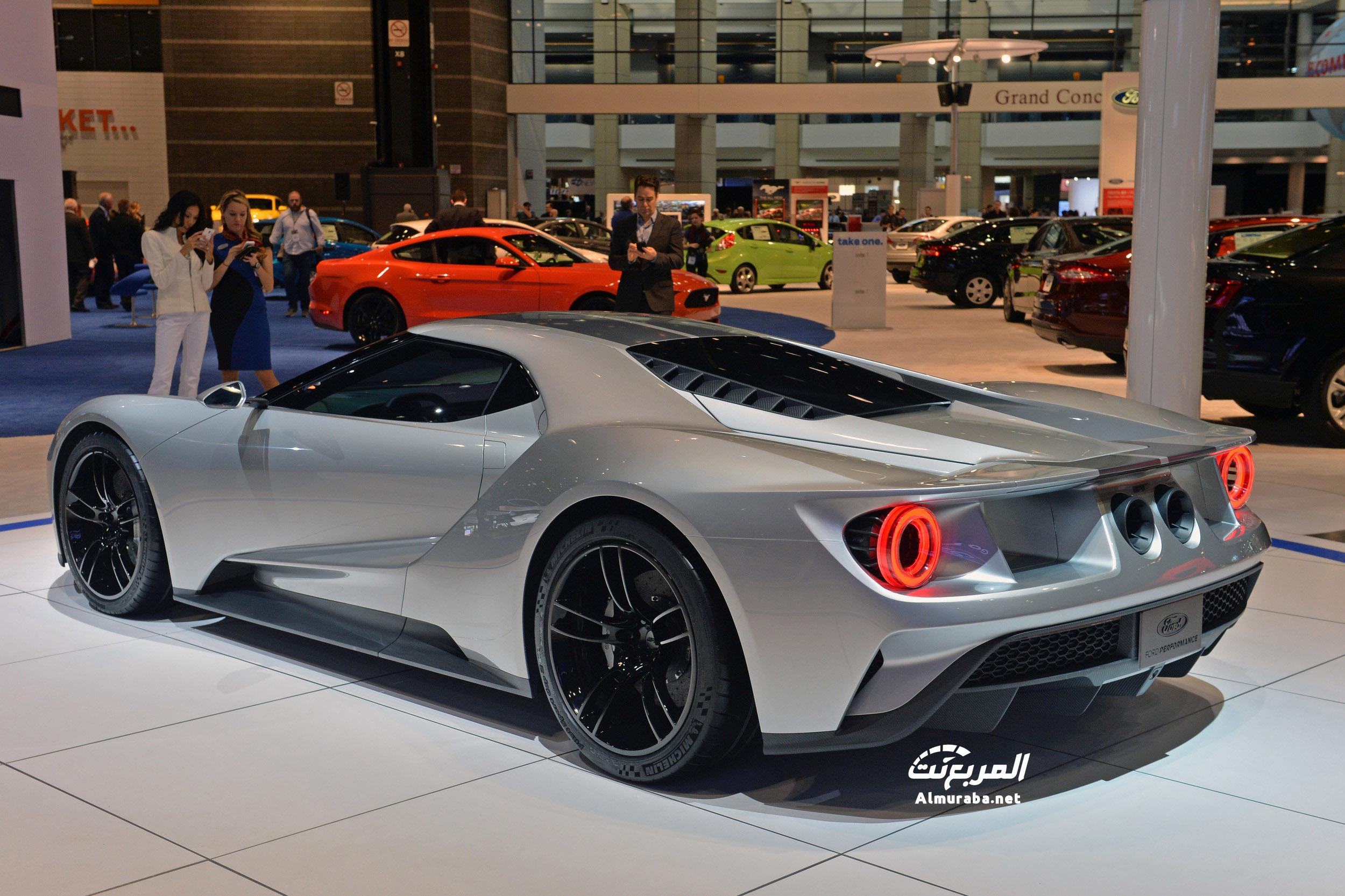 """فورد جي تي 2017 تبهر الحضور باللون الجديد """"صور ومواصفات"""" Ford GT   المربع نت"""