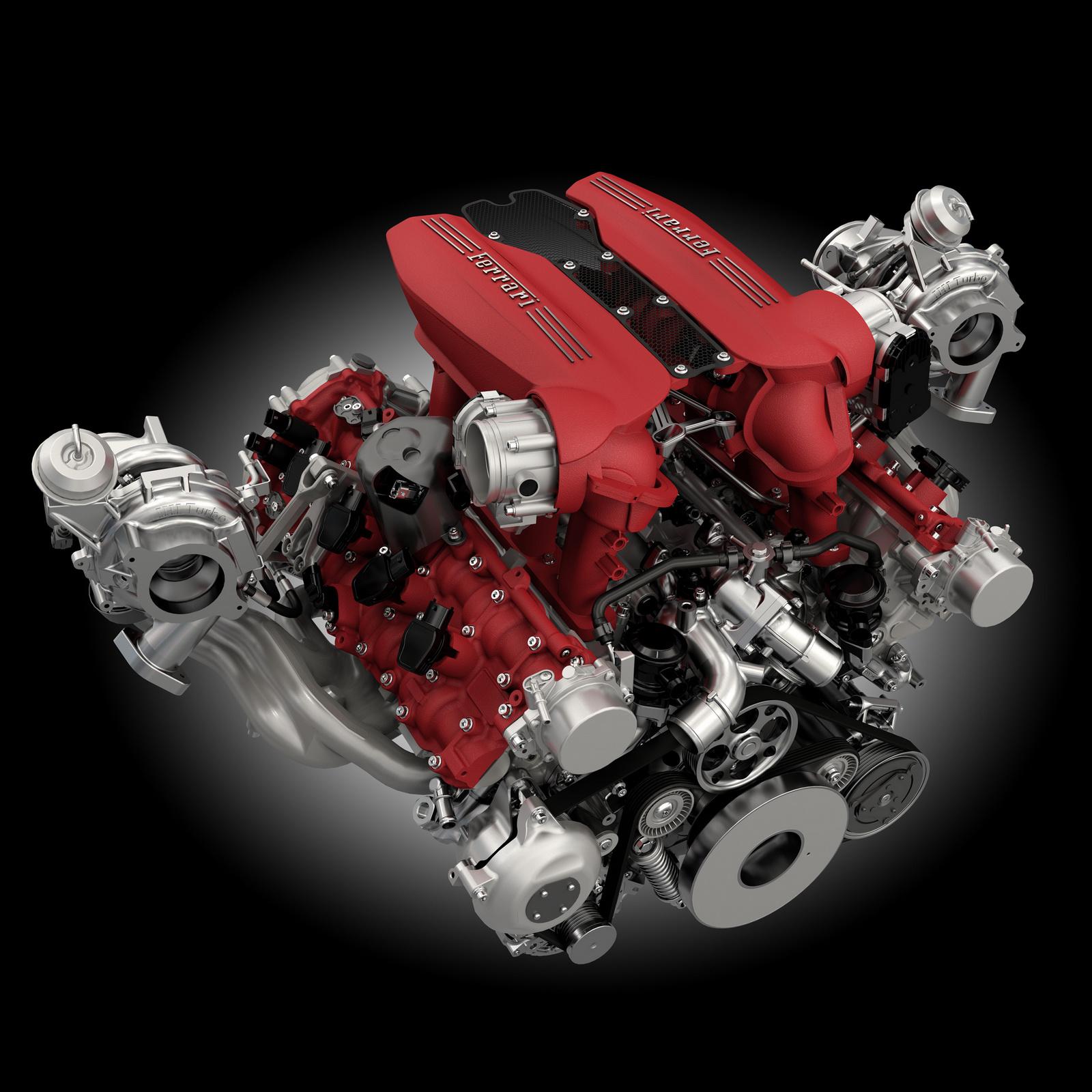 فيراري تطلق جي تي بي الجديدة بقوة 670 حصاناً Ferrari 488 GTB | المربع نت