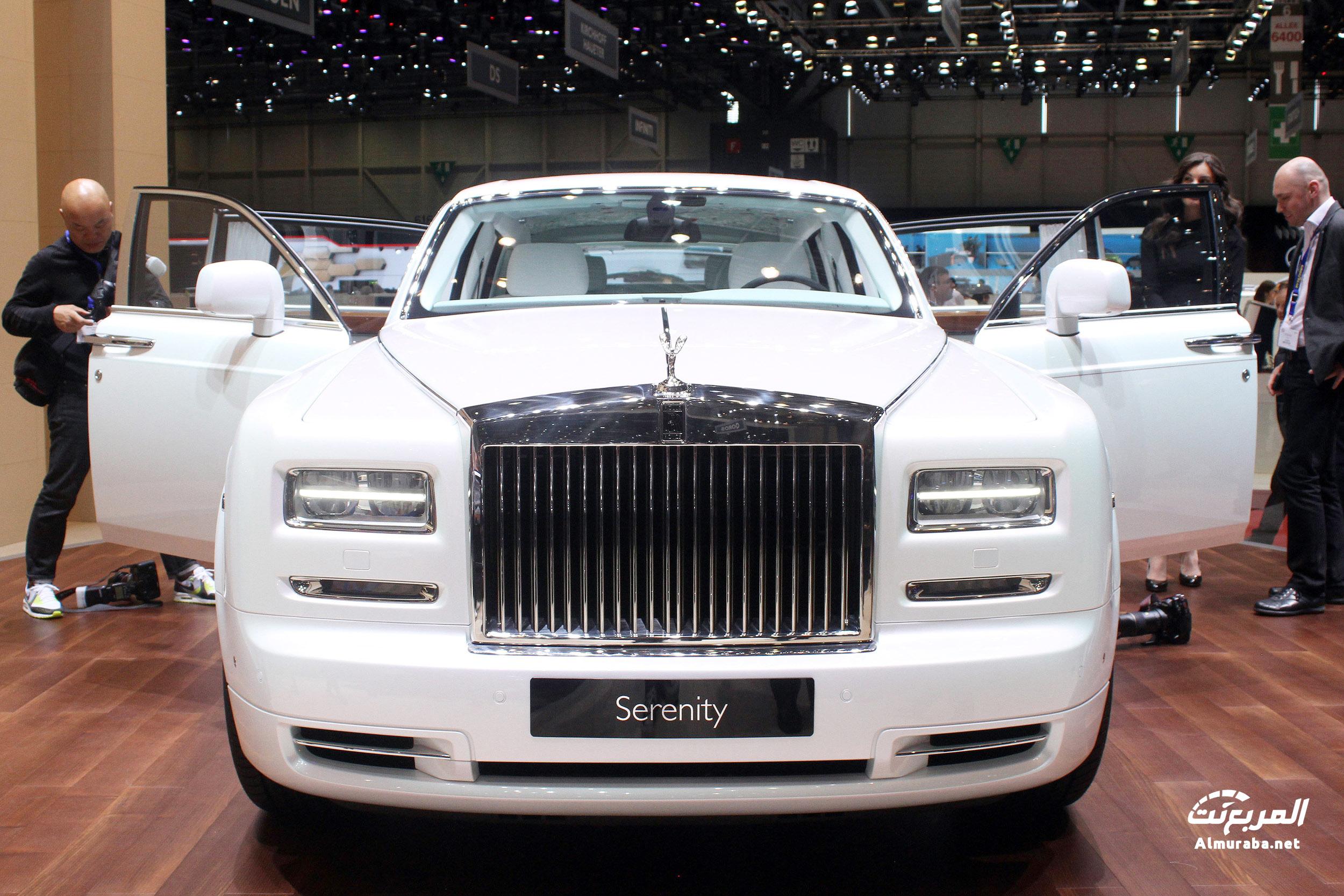 """رولز رويس فانتوم 2015 نسخة """"الصفاء"""" تحصل على تطويرات ومواصفات جديدة Rolls-Royce   المربع نت"""